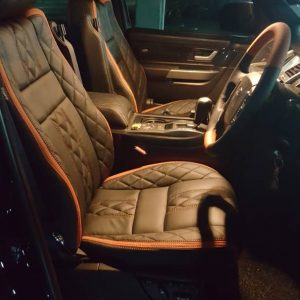 Land Rover Range Rover 2006 Leather Seat Covers & Upholstery