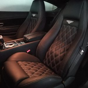 Bentley Continental GT 2006 Leather Seat Covers & Upholstery