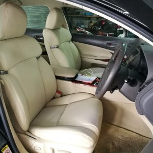 Lexus GS 450H 2009 Leather Seat Covers & Upholstery