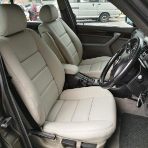 BMW E32 1992 Leather Seat Covers & Upholstery