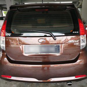 Perodua Myvi 1.3 2006 (Dark Brown & Beige)