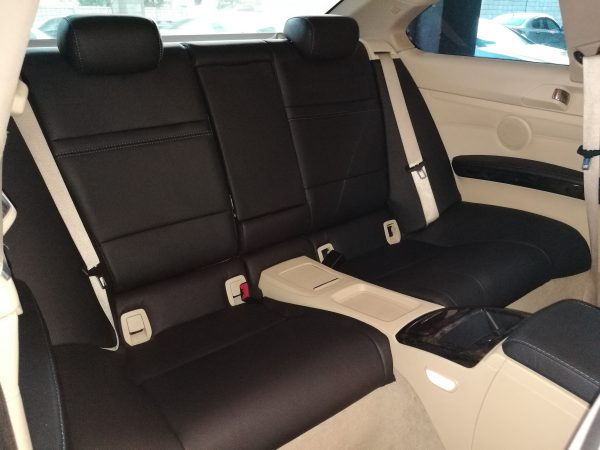 BMW 325i E92 2010 Leather Seat Covers & Upholstery