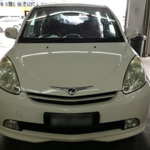 Perodua Myvi 1.3 2007 (E-Leather Black & Maroon)