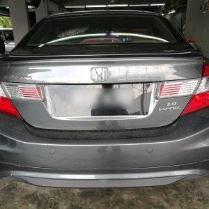 Honda Civic 2013 (Black & Brown)
