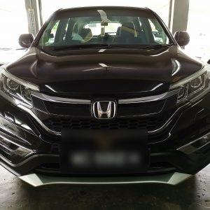Honda CRV 2013 (Black with light grey stripe)