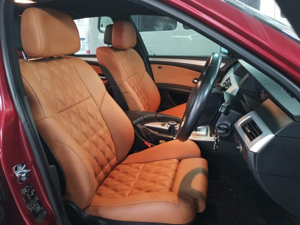 BMW E60 M3 Sport 2008 Leather Seat Covers & Upholstery