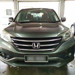 Honda CRV 2013 (E-Nappa Maroon)