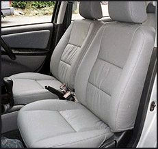 Toyota Vios Leather Seat Covers & Upholstery