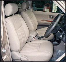 Toyota Unser Leather Seat Covers & Upholstery