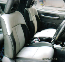 Toyota Rav 4 1996 Leather Seat Covers & Upholstery