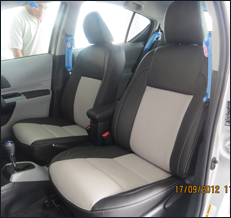 Toyota Prius C Leather Seat Covers & Upholstery