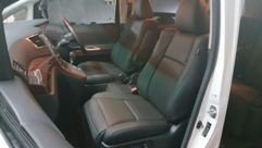 Toyota Vellfire (BLACK) Leather Seat Covers & Upholstery