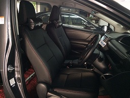 Toyota Sienta 1.5 2017 Leather Seat Covers & Upholstery