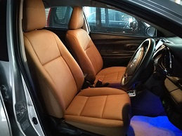 Toyota Vios 1.5 E Spec 2016 Leather Seat Covers & Upholstery