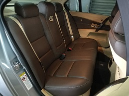 BMW E60 (Dark Brown Leather)