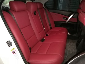 BMW E60 (Maroon Color)