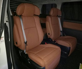 Toyota Vellfire 1/2 spec (4 Pilot Headrest)