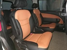 Honda Elysion 2007 (Nappa Black & Tan)