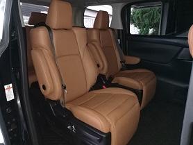 Toyota Alphard 2015 (Tan color)