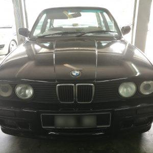 BMW E30 1989 Nappa Tan Leather