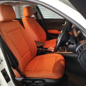 BMW 118 Series E87 2008 Leather Seat Covers & Upholstery