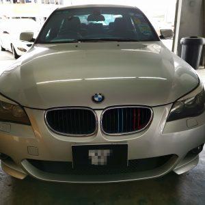 BMW 525i E60 2010 (E-Nappa Maroon)