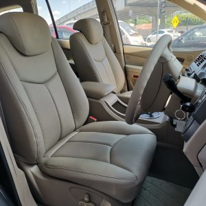 SSANGYONG KYRON 2.0 2006 Leather Seat Covers & Upholstery