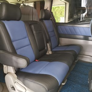Toyota Alphard 8s 2004(Black&Blue Leather)