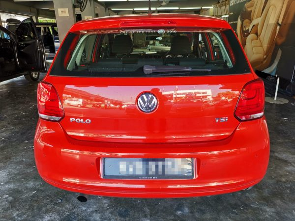 Volkswagen Polo TSI 1.2cc 2011 Leather Seat Covers & Upholstery