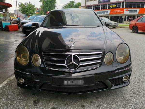 Mercedes Benz E280 AMG W211 2008 (Diamond Shape Design)