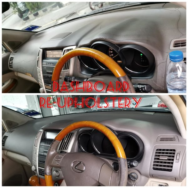 Dashboard Re-upholstery