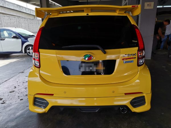 Perodua Myvi Extreme 1.5 2012 Leather Seat Covers & Upholstery