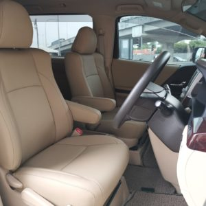 Toyota Alphard 2014 (OKU Seat) Leather Seat Covers & Upholstery