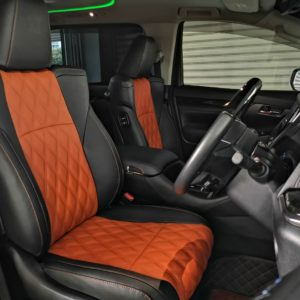 Toyota Alphard Full Spec 2018 Leather Seat Covers & Upholstery