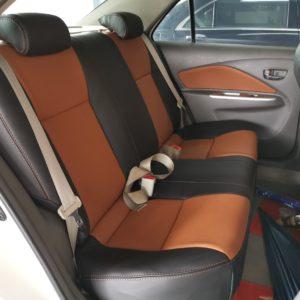 Toyota Vios 2012 (Nappa Black&Brown)