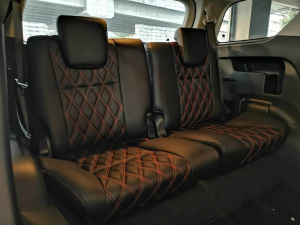 Toyota Fortuner 2.4 2018 Leather Seat Covers & Upholstery