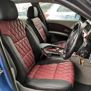 BMW E60 2005 Leather Seat Covers & Upholstery