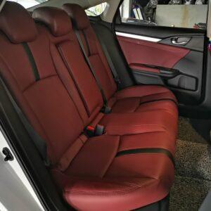 Honda Civic 1.8 FC 2019 (Maroon with Black Stripe)