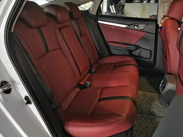 Honda Civic 1.8 FC 2019 Leather Seat Covers & Upholstery