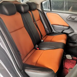 Honda City 2015 (Black & Orange Brown)