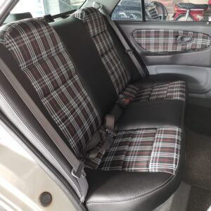 Proton Wira 1.5 2002 (PU Black & British Chequered Fabric)