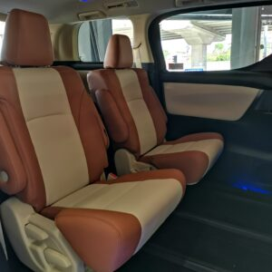 Toyota Vellfire 2017 (8 seater modified to 7 seater) in Tan and Light Beige