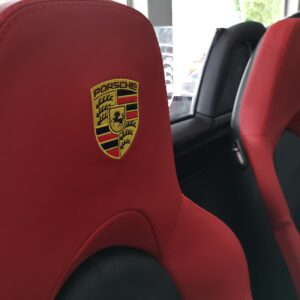 Porsche Boxter 2011 (Nappa Black & Ferrari Red leather)