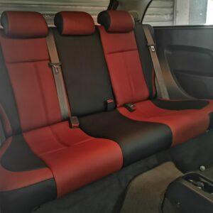 Proton Satria Neo 2011 in Black & Maroon