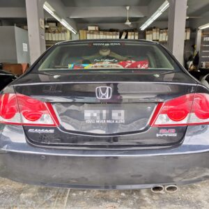 Honda Civic FD 2011 (Black & Red with customized Embroidery)