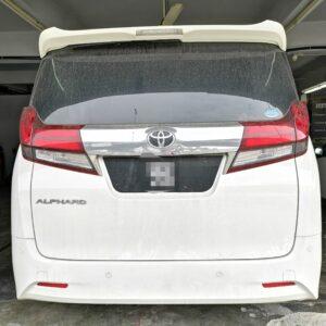 Toyota Alphard 8 seater 2018 (Diamond Shape Design)