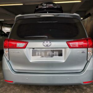 Toyota Innova G Spec 2020 (E-Nappa Brown & Dark Brown)