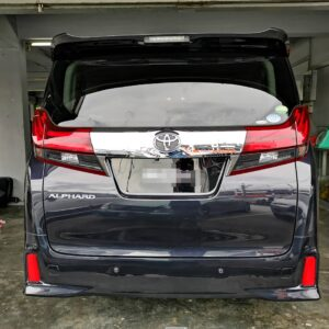 Toyota Alphard 7s (Wheelcap Chair) 2017