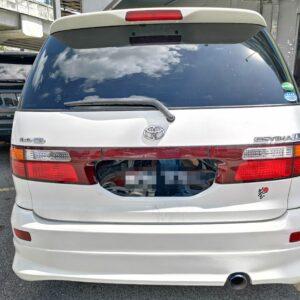 Toyota Estima ACR30 7S 2002 (with diamond shape Design)