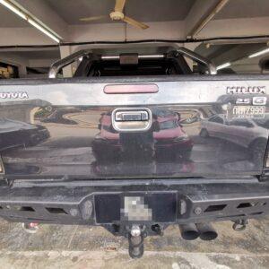 Toyota Hilux 2009 (E-Nappa Brown & Dark Brown)